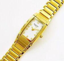 Regent Damenuhr Armbanduhr Damen Edelstahl vergoldet Zahlen  NEU