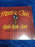Motley Crue World Tour Japan version Girls Girls Girls 1987/88 Vince Neil