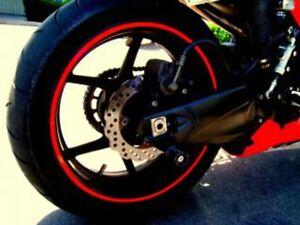 3M™ Orange 7mm x 6M Fluorescent Motorbike/Car Wheel Rim Vinyl Stripes/Stickers !