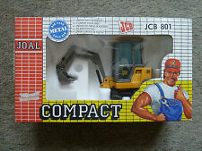 REDUCED Vintage JCB 801 Mini Excavator Joal Compact 1/35 scale -Never Out of Box