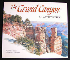 The Grand Canyon: An Artist's View (Signed, 1996, Paperback) John Dawson VGUC
