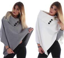 Damen-Pullover & -Strickware im Ponchos-Stil aus Wolle in Übergröße