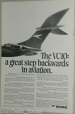 1967 BOAC advert, Vickers VC10 airplane, VC 10, British Overseas Airway Corp