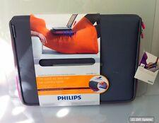 Philips SLE2100PN Notebook Sleeve mit Hitzeschutz, bis 10,2 Zoll, Grau / Pink