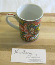 Vera Bradley Provencal Coffee Tea Cup Mug 8 Ounces to Match Tote Backpack, Nwot~