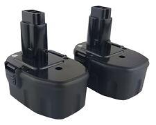 2 PACK - 14.4V 14.4 VOLT Battery for DEWALT DW9091 DW9094 - 2 YEAR WARRANTY