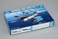 02844 1/48 Model Trumpeter Hawker Sea Fury FB.11 Fighter Warplane AirPlane