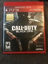 Call Of Duty Black Ops PS3 TESTED WORKS GREAT GAME