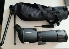 Bresser manchado 360 ° Giratorio alcance 20x – 60 X 60 en Suave Funda De Transporte-Negro