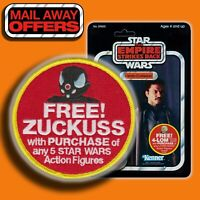 "2020 Kenner STAR WARS ""FREE ZUCKUSS mail-away offer"" Vintage style 3.5"" patch"