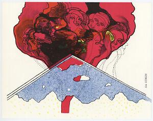 Lea Lublin original lithograph