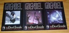 Grendel: the Devil Inside #1-3 VF/NM complete series - matt wagner - mireault 2