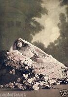 Erna Denera Fotoabbildung v. 1914 Kundry Parsival Schloss Pila Posen Sopranistin
