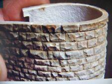 "Chooch (HO/O Scale) #8254 Flexible Large Random Stone Wall, 3.5""x13"" -  NIB"