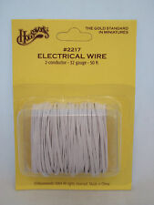 Electrical Wire 32 gauge 50' 2 strand dollhouse #2217