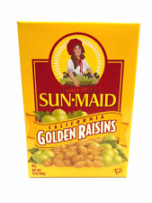 Sun Maid California Golden Raisins 15 Oz,Sun Dried, Fiber, fat free energy snack