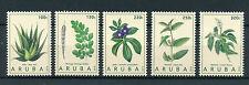Aruba 2016 MNH Medicinal Plants 5v Set Aloe Vera Moringa Seida Toronhill Stamps