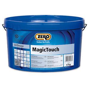 ZERO Magic Touch Silber Dekorative Spachtelmasse samtig metalischer Effekt 8 kg