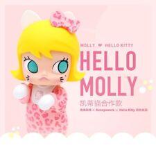 "Kennyswork x POP MART x Sanrio Kenny Hello Kitty Molly 7"" Vinyl Figure MIB"