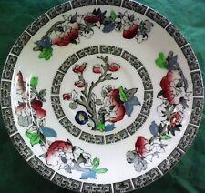 "Johnson Brothers 'Indian Tree' Green Key, White Ground 5 1/8"" Fruit Bowl"