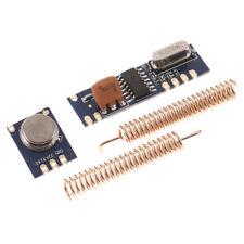 1Set 433MHz ASK Module Kit RF STX882 Transmitter SRX882 Receiver AntennaP G3