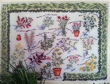 Kreuzstich Packung Kräutergarten Cross Stitch Kit The Herb Garden, permin OVP