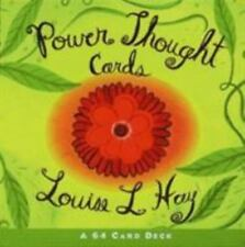 Power Thought Cards by Louise L. Hay (1999, Cards,Flash Cards)