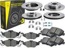4 Bremsscheiben + Beläge Vorne & Hinten Chevrolet Corsa Opel Astra Kasten Coupe