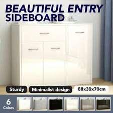vidaXL Sideboard 88x30x70cm Chipboard Storage Chest Cupboard Multi Colours