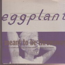"eggplant because some things are meant to be 7"" on pop narcotic purple vinyl"