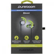 PureGear PureBoom Wireless Bluetooth Sweatproof/Water Resistant Ear Buds