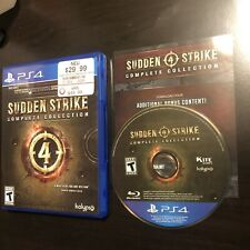 Sudden Strike 4 Complete Collection PS4 Game US Version