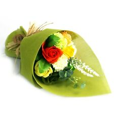 Standing Soap Flower Bouquet - GREENS - Enjoy to Look At / ENJOY to Bath With