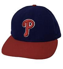 Philadelphia Phillies MLB New Era 59Fifty Blue/Red Sz 7 5/8 Hat Baseball Cap NEW