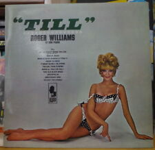 "ROGER WILLIAMS  ET SON PIANO ""TILL"" SEXY COVER RE-ISSUE FRENCH LP DISQUES VOGUE"