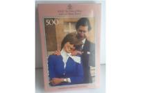 Rompecabezas De 500 Piezas-El príncipe de Gales y Lady Diana Spencer