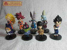 Dragon Ball Z Battle of Gods Kami Son Goku Birus Whis 8 pcs FIGURES SET Toy Gift