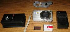 Sony Cyber-shot DSC-W150 8.1MP 5x Optical Zoom Silver UVGC Guarantee Bundled