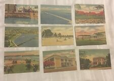 Je061 Lot Of 21 Linen Postcards Of The Key West, Florida