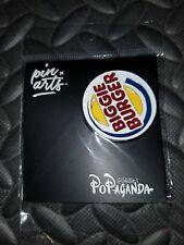 RON ENGLISH : BIGGIE BURGER Pin POPAGANDA