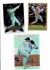 1999 TOPPS & 1998 TOPPS FINEST  McGWIRE Box Toppers + 1995 BOWMANS BEST NOMO