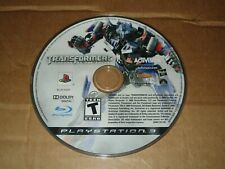 PLAYSTATION PS3 TRANSFORMERS REVENGE OF THE FALLEN VIDEO GAME DISC ONLY USED