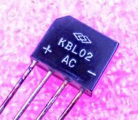 2 Brückengleichrichter KBU6 B 70V 6A Gleichrichter 100V KBU6B 080476