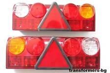 2 x LED Rückleuchte Heckleuchte Auto Fahrzeug LKW Rücklicht Anhänger 24V Licht,