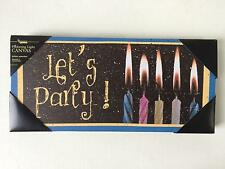 Led Lighted Canvas Let'S Party! Wall Art Sign Picture See Video!