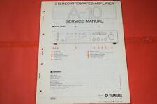 Originale Service Anleitung und Schaltplan Yamaha A-10 Stereo Amplifier!!