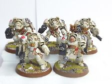 GW 40K DARK ANGELS DEATHWING TERMINATOR SQUAD. PAINTED. WHITE 438