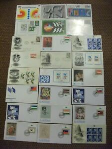 VARIOUS 1970'S-90'S UNITED NATIONS  STAMPS 1ST DAY COVERS, ETC. (NO. 3)