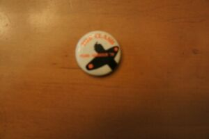 The Clash concert pin