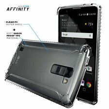For LG Stylo 2 Plus (2016)Case Clear Poetic【Affinity】Shockproof Bumper TPU Cover